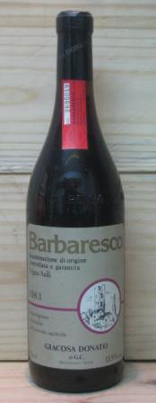 wein barbaresco 1983